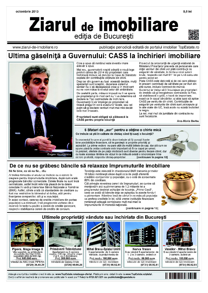 Ediţia de București, 04 Octombrie 2013