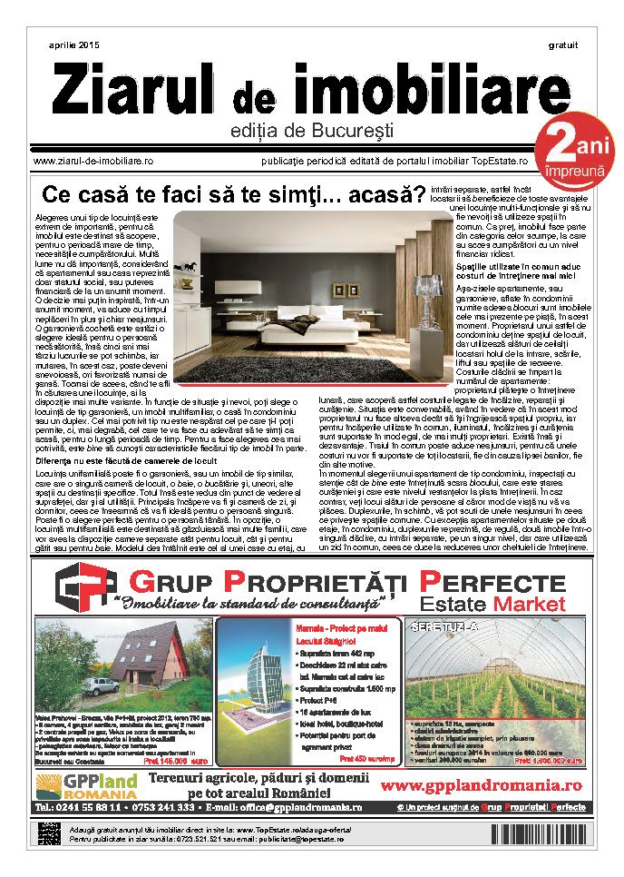 Ediţia de București, 02 Aprilie 2015