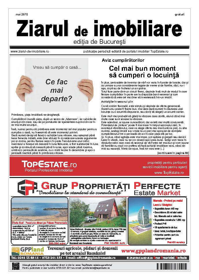 Ediţia de București, 09 Mai 2015