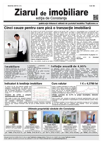 Ediţia de Constanţa, 01 Martie 2013
