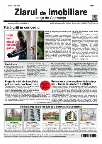 Ediţia de Constanţa, 15 Aprilie 2013