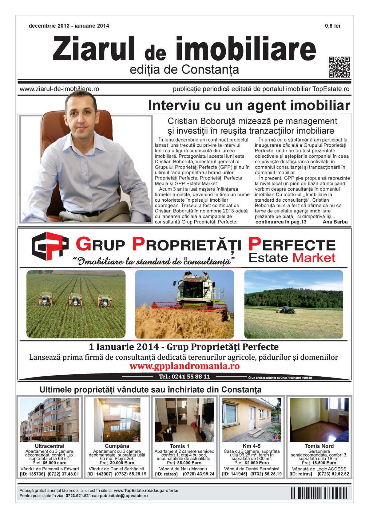 Ediţia de Constanţa, 02 Decembrie 2013