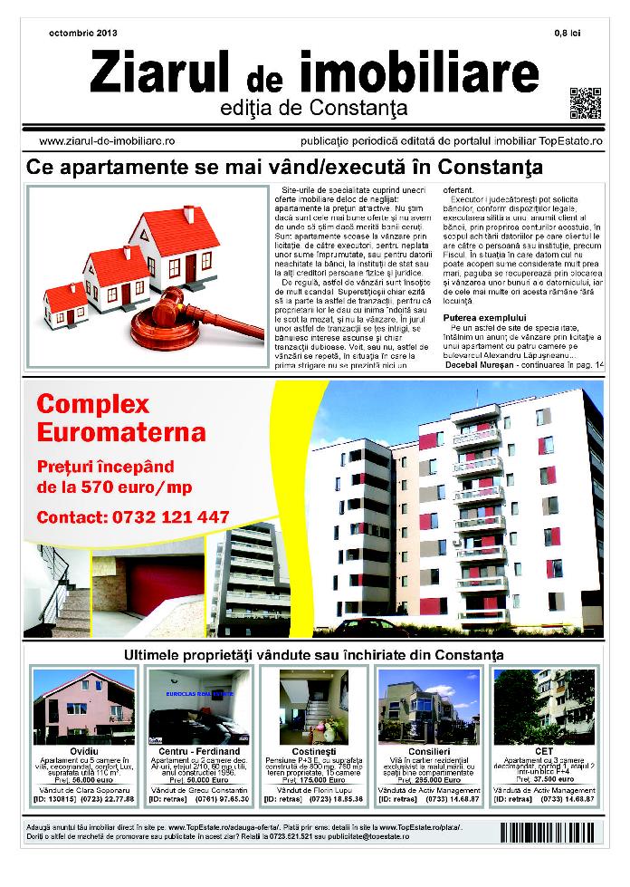 Ediţia de Constanţa, 02 Octombrie 2013