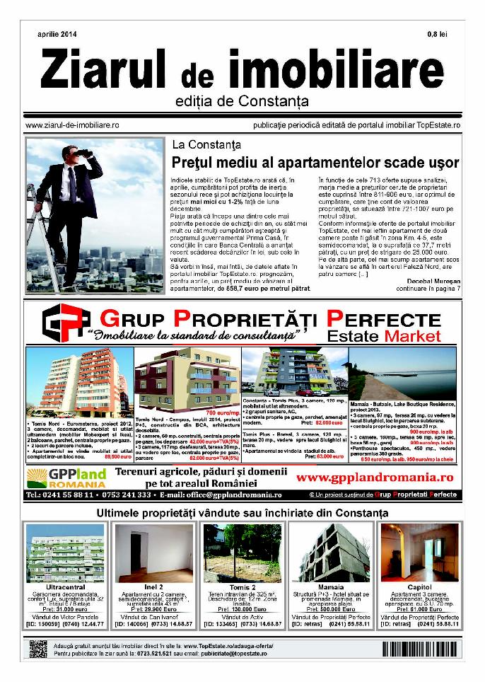 Ediţia de Constanţa, 01 Aprilie 2014