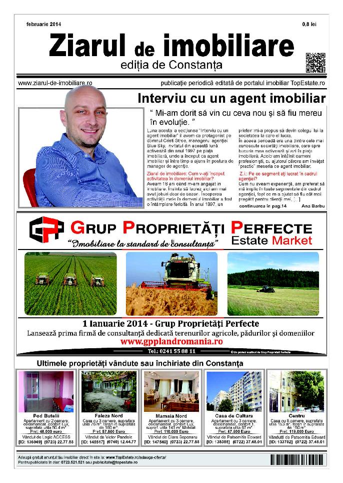 Ediţia de Constanţa, 01 Februarie 2014