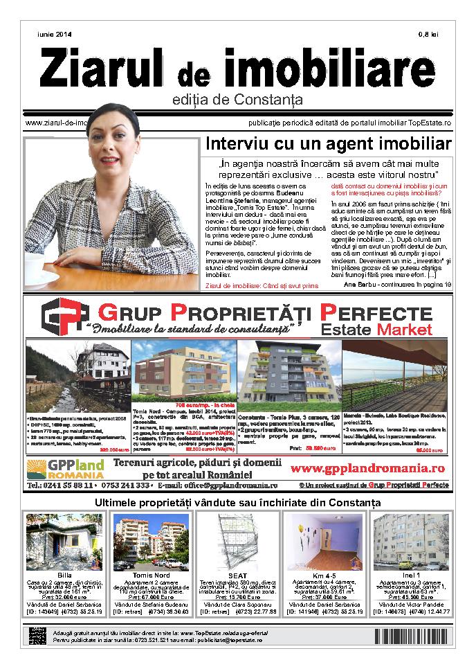 Ediţia de Constanţa, 01 Iunie 2014