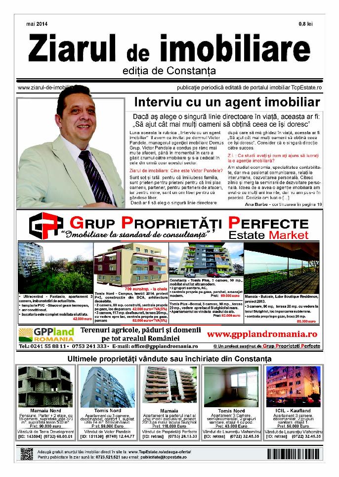 Ediţia de Constanţa, 01 Mai 2014