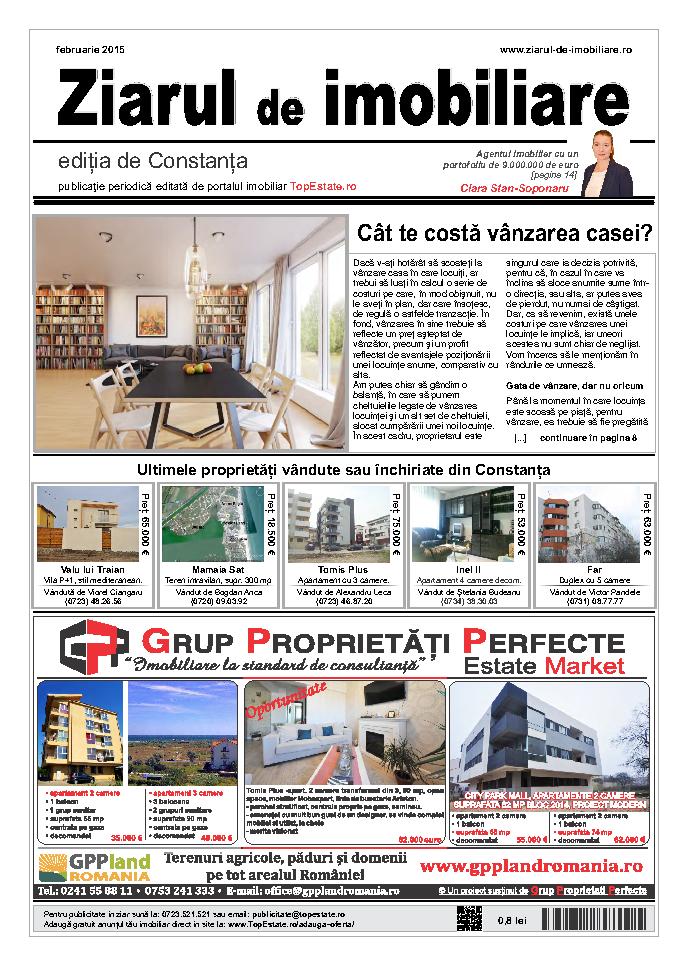 Ediţia de Constanţa, 01 Februarie 2015