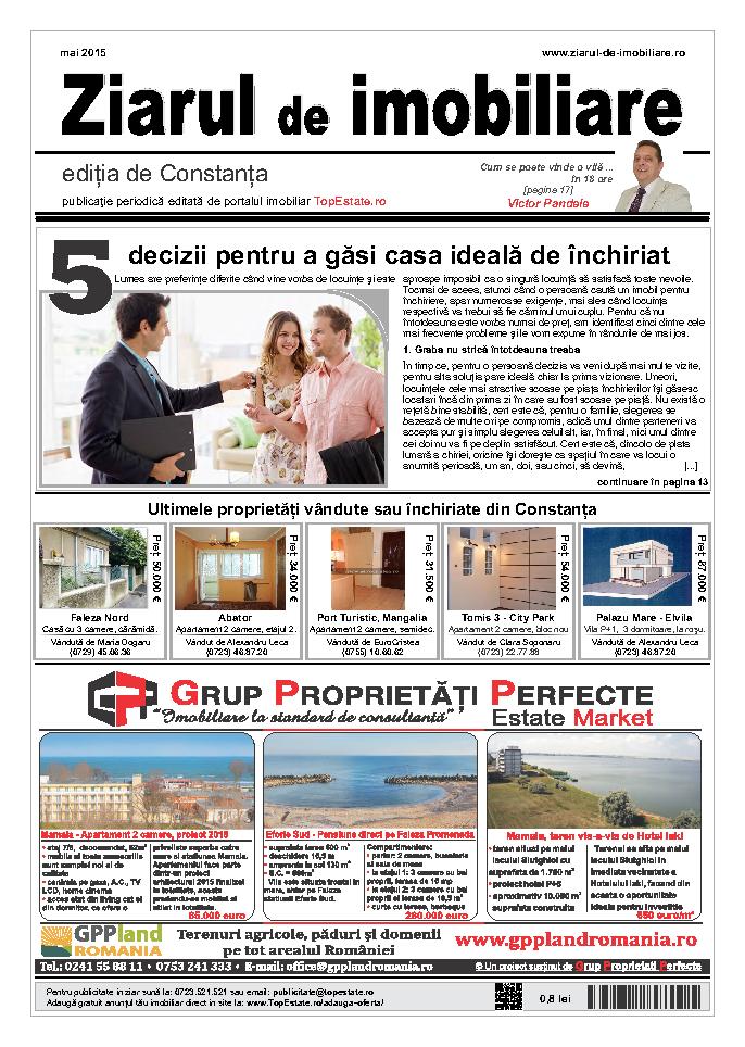 Ediţia de Constanţa, 01 Mai 2015
