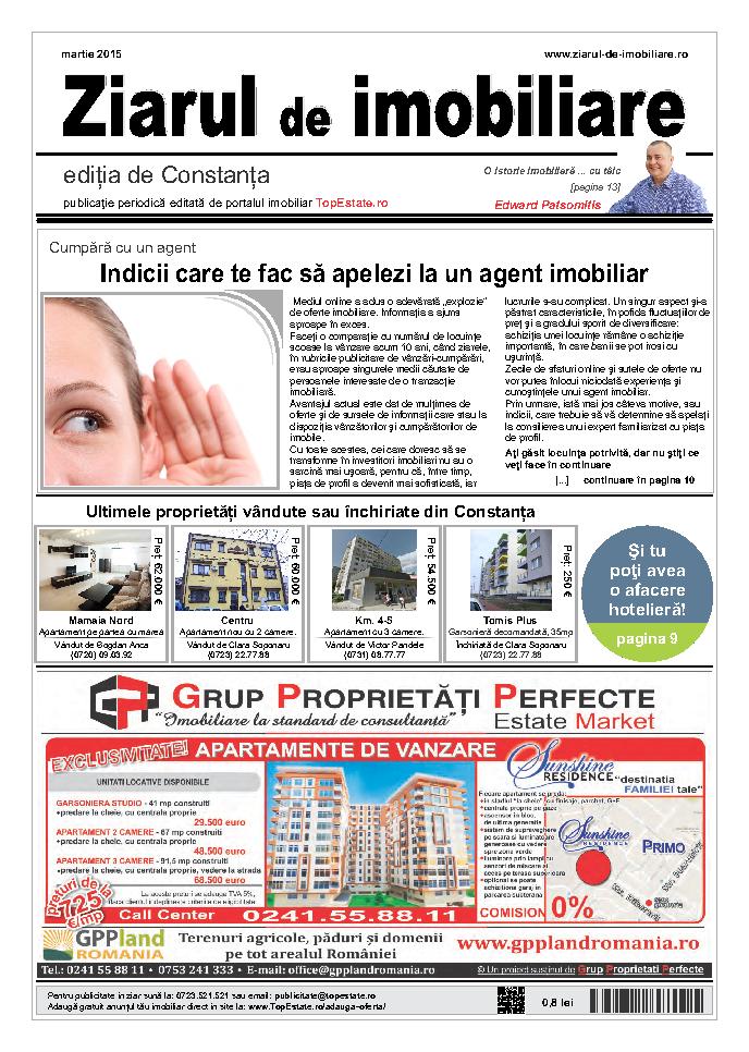 Ediţia de Constanţa, 01 Martie 2015