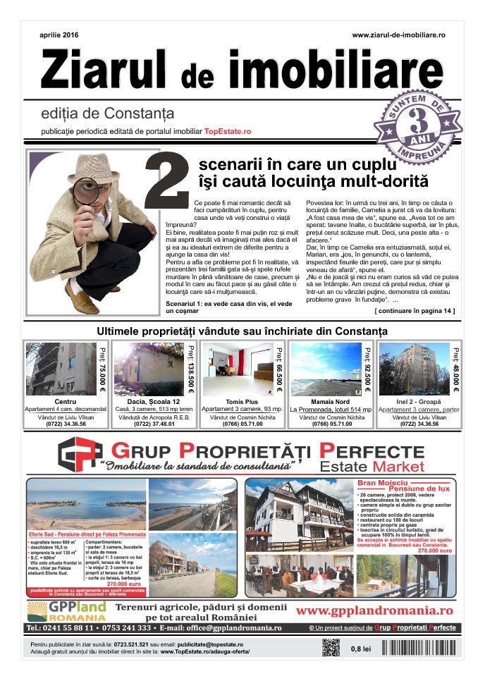 Ediţia de Constanţa, 01 Aprilie 2016
