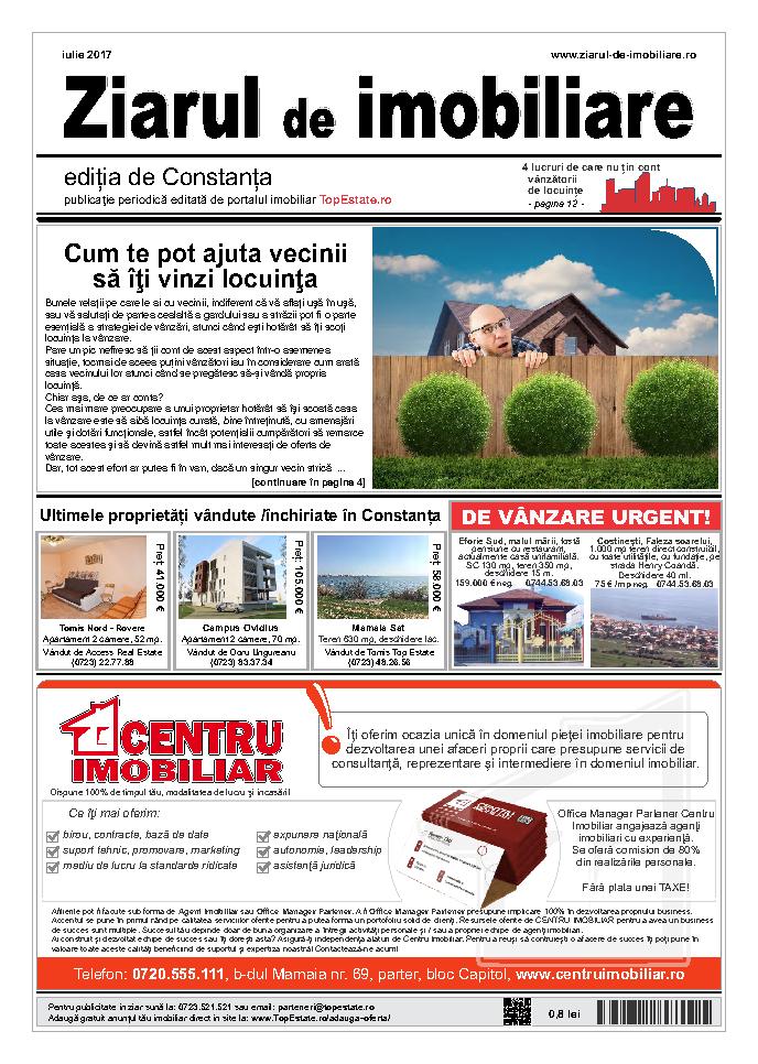 Ediţia de Constanţa, 01 Iulie 2017